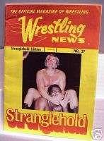 1974 Wrestling News Stranglehold Magazine Bruiser Sheik