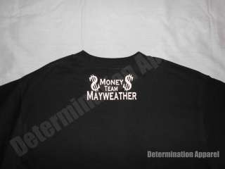 Floyd Mayweather T Shirt HARD WORK & DEDICATION Money Team Boxing