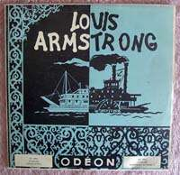 LOUIS ARMSTRONG French Odeon OS 1012 JAZZ EP 33 RPM
