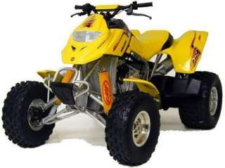 YELLOW Shock Covers Cover BOMBARDIER RALLY atv Set 3