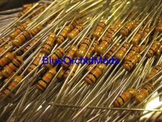 100 10K 1/4 Watt Resistors XBOX 360 Controller Mod Kit