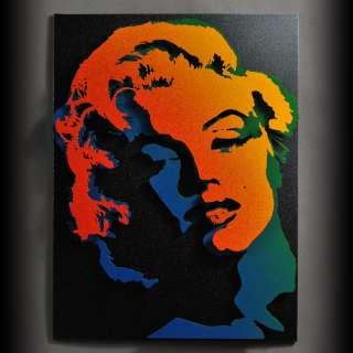 Marilyn Monroe Pop Metal Wall Art Steel Sculpture 3D Portrait Decor