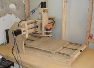 NEW CNC Router Table Mill Machine Engraver PLANS 3 axis 3D DIY