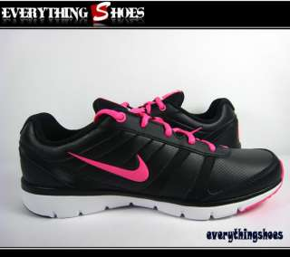 Nike Wmns Air Total Core TR LEA Black Pink White Womens Training Shoes
