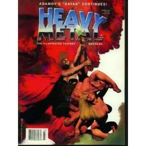 Heavy Metal Magazine (March 1996) Kevin Eastman  Books