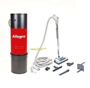 Allegro Central Vacuum MU4401 Powerful Unit+35 KIT NEW
