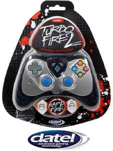 Wildfire 2 Turbo Fire Black Wireless Controller for Playstation 3
