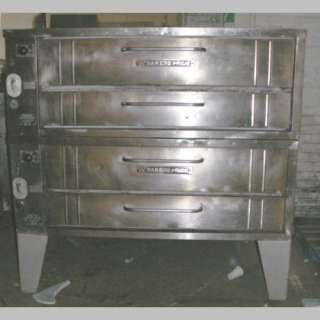 Bakers Pride Model 451 Double Deck Pizza Oven