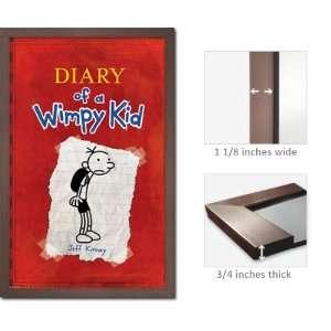 Slate Framed Diary Wimpy Kid Poster Jeff Kinney Fr6396