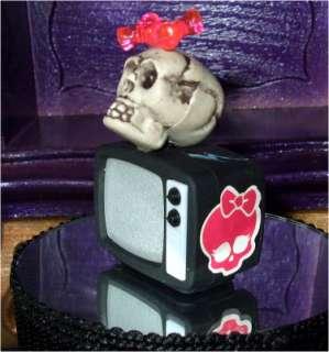 Monster High Barbie Doll house custom tv lights and sound OOAK