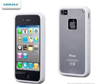Momax iCase Pro Soft TPU Case Cover Shell iPhone 4/4S/4GS with Screen