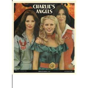 1977 Charlies Angels Jaclyn Smith, Cheryl Ladd & Kate Jackson 8.5x10