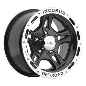 16 inch Incubus 511 black wheels Jeep Wrangler 5x4.5