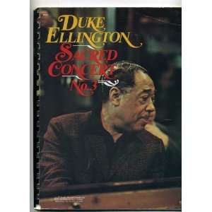 Duke Ellington Sacred Concert No. 3: Duke Ellington: Books