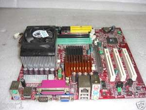 MSI MS 6738 Motherboard w/ AXDA2000DUT3C Athlon CPU