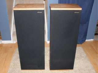 Polk Audio SDA 1 Stereo Speakers Pair Sound Great  Great Pair