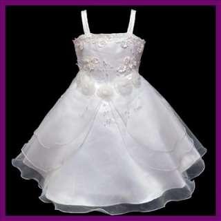 12UA2 Fancy Wedding Bridesmaid Flower Girls Dress 5 6yr