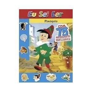 Pinoquio c/ Autocolantes (Eu sei ler   a partir dos 5 anos