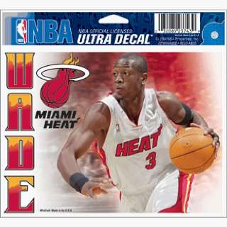 Dwayne Wade Heat Static Cling Decal *SALE* Sports