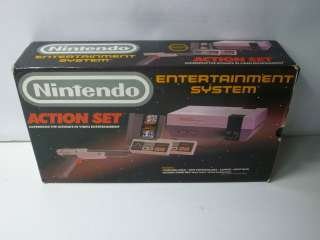 Nintendo NES Action Set In Box New 72 Pin System 0045496610104