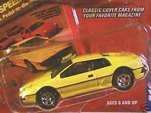 Johnny Lightning 1980 LOTUS ESPRIT TURBO Sports Car 80