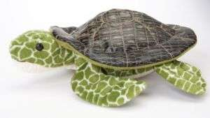 Douglas Toy Plush 9 SEAWEED Stuffed Sea Turtle ~NEW~