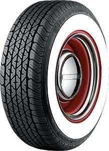 Coker Tire 629703 P235/75R15 BFG Radial Whitewall Tire