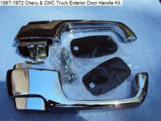 1967 1972 Chevy & GMC Truck Outside Door Handles.
