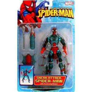Amazing Spider Man Web Sneak Attack Spider Man: Toys & Games