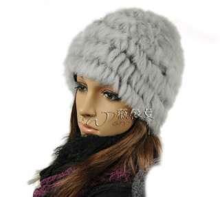 A1 new real rabbit fur 8 color hat cap coat jacket
