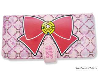 Offically Licensed Sailor Moon Anime Moon Bow Wallet