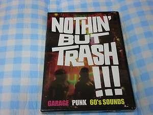 NOTHIN BUT TRASH  Garage Punk DVD 2006 NEW & SEALED