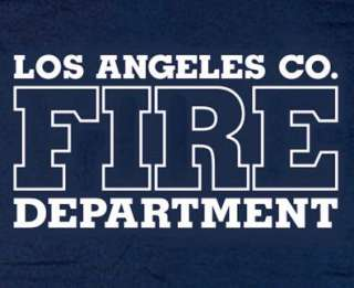 Los Angeles County Fire Dept. T shirt 3XL Long Sleeve