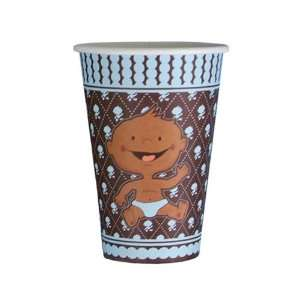 Modern Baby Boy African American Cups (8 count) Health