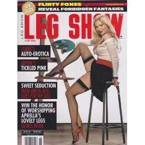 June 2006 Leg Show Magazine: Dian Hanson: Books