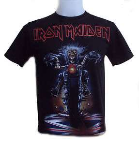 Iron Maiden  Dont Walk  T Shirt Free Patch