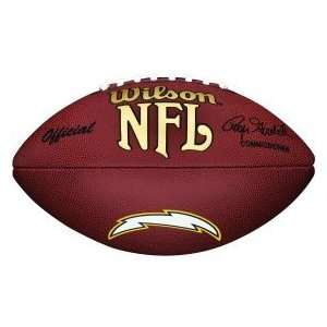 San Diego Chargers NFL Composite Wilson Logo Football