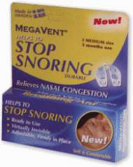 MegaVent Breathing Aid Large Size Stop Snoring Snore