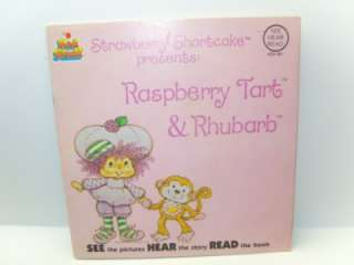 Strawberry Shortcake Raspberry Tart Talking story book
