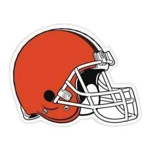 CLEVELAND BROWNS TEAM NFL LOGO MAGNET HELMET CAR VAN NY