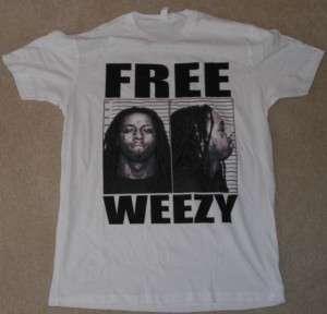 LIL WAYNE Free Weezy Shirt NEW