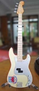 Miniature Guitar Steve Harris Iron Maiden West Ham Bass