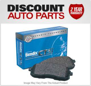 New Rear Bendix 2 wheel set Brake Pad Jeep Liberty 2006 2005 2004 2003