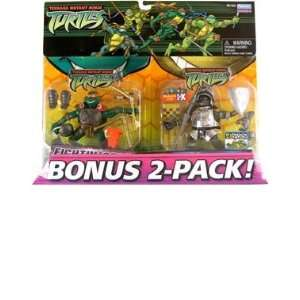 Teenage Mutant Ninja Turtles Bonus 2 Pack Fighting Gear
