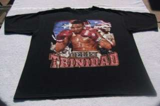 FELIX TRINIDAD IBF Welterweight Champion XL T SHIRT boxing