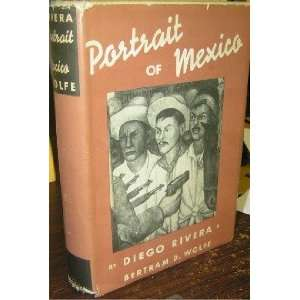 Portrait of Mexico: Diego Rivera:  Books