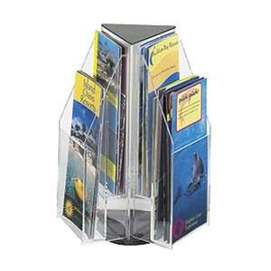 Reveal Table Top Triangle Magazine Display, Holds 6