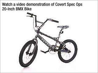 Covert Spec Ops BMX Bike (20 Inch Wheels) Sports