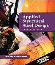 Applied Structural Steel Design, (0130889830), Leonard Spiegel
