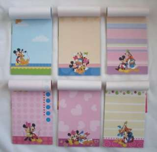 pc DISNEY Mickey Mouse & Friends NOTEPADS Memo Pad )